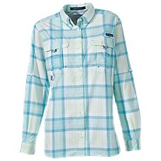 Columbia Super Bahama Plaid Shirt for Ladies