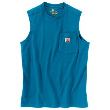 Carhartt Workwear Pocket Sleeveless T-Shirt for Men