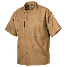 Drake Waterfowl Cotton Wingshooter's Short-Sleeve Shirt with StayCool Fabric for Men