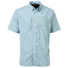 Bob Timberlake Yarn-Dyed Plaid Short-Sleeve Shirt for Men