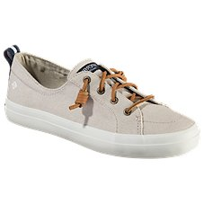Sperry Crest Vibe Linen Sneakers for Ladies