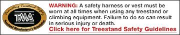 Read TMA Treestand Safety Guidelines