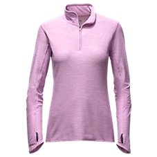 The North Face Motivation 1/4-Zip Pullover Top for Ladies