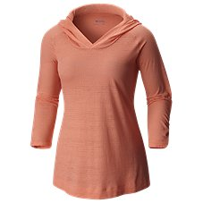 Columbia See Through You Burnout Hoodie for Ladies