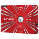 Callaway Chrome Soft X Golf Balls - 12-Pack