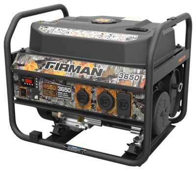 Firman Power Equipment 3650W Performance Series Camo Generator  by