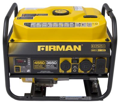 Firman Power Equipment 3650W Performance Series Generator  by