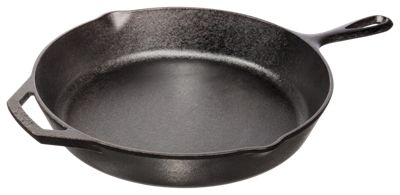 Bass Pro Shops Lodge 12'' Cast Iron Skillet with Assist Handle  by
