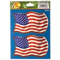 Bass Pro Shops USA Flag Window Decal 2-Pack