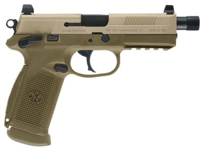 FN FNX Tactical FDE Semi-Auto Pistol  by