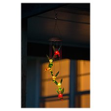 Evergreen Solar Garden Hummingbird Mobile