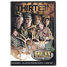 Drury Outdoors THIRTEEN Season 1 Video – DVD