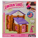 K'Nex Lincoln Logs Country Meadow Cottage Building Set