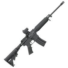 Bushmaster QRC Tactical Semi-Auto Rifle with Red Dot Sight