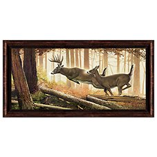 Scott Kennedy Into the Woods Personalized Framed Artwork