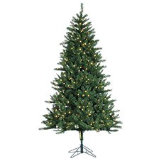 Sterling 7.5' Pre-Lit Hawthorne Pine Artificial Christmas Tree with Clear Lights