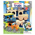 MasterPieces Wooden Train Paint and Craft Kit