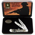 Case Army Trapper Pocket Knife Gift Set