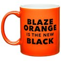 30 Watt Blaze Orange Coffee Mug