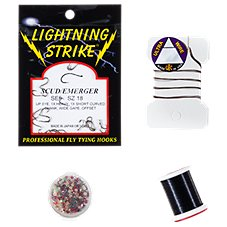 White River Fly Shop Masters Zebra Midge Fly Tying Kit