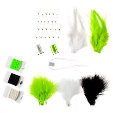 White River Fly Shop Masters Panfish Jig Fly Tying Kit