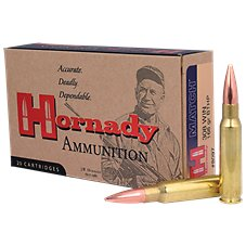Hornady ELD Match Heat Shield Tip Centerfire Rifle Ammo