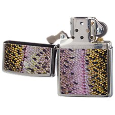 Zippo Rainbow Trout Fish Scale Lighter