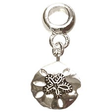 Amanda Blu Add-A-Bead Silver-Plated Sand Dollar