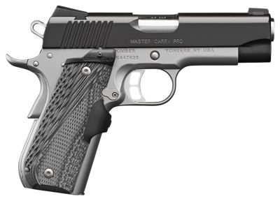 Kimber Master Carry Pro Semi-Auto Pistol with Crimson Trace Lasergrips  by