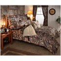 Bass Pro Shops TrueTimber Kanati Bedding Collection Comforter Set