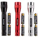 Bass Pro Shops 200 Lumen 3-Pack Flashlight Combo