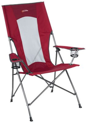 your next outdoor adventure even more with the portable comfort of the highback comfort chair from bass pro shops eclipse built around a heavy duty - Heavy Duty Folding Chairs