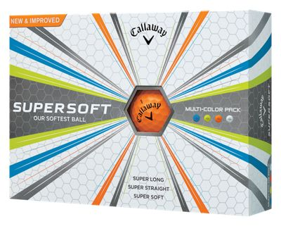Callaway Golf Supersoft Multi-Color Pack Golf Balls