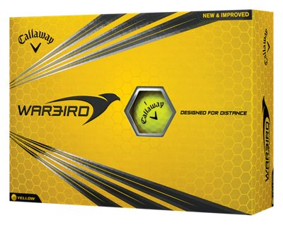Callaway Golf Warbird Yellow Golf Balls