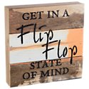 Sweet Bird & Co. Flip Flop Reclaimed Wood Sign