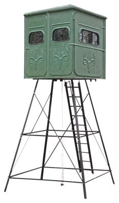 Redneck Blinds The Shooter Platinum Hunting Blind with Stand  by