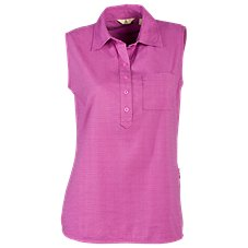 Ascend Sleeveless Polo Shirt for Ladies