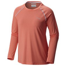 Columbia Tamiami Heather Knit Long-Sleeve Shirt for Ladies