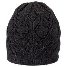 Ascend Pointelle Knit Hat for Ladies