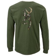 Browning Logo Realtree Xtra Long-Sleeve T-Shirt for Men