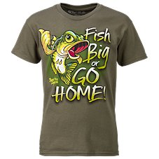 Bass Pro Shops Fish Big T-Shirt for Kids