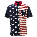 RedHead Vintage Half Stars Shirt for Men