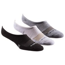 Sof Sole Multi-Sport Cushion No Show Socks for Men - 3-Pair Pack