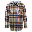 Bass Pro Shops Hooded Plaid Shirt for Toddlers or Boys