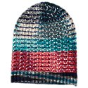 Quagga Open Crochet Hat for Ladies
