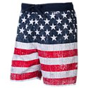 RedHead New Stars and Stripes Swim Shorts for Men