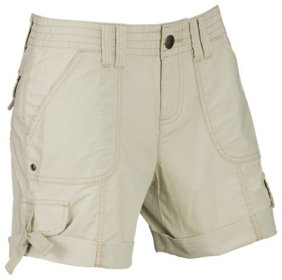 Natural Reflections Coral Springs Shorts for Ladies - Peyote - 14