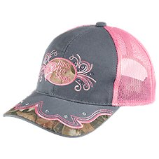 Bass Pro Shops Pink Rhinestones Cap for Ladies