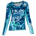 Huk Kryptek Icon Long-Sleeve T-Shirt for Ladies