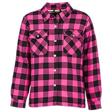 Bass Pro Shops Plaid Button-Down Shirt Jacket for Toddlers or Girls